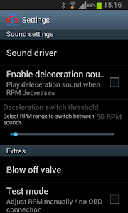 OBD 2 Engine Sound screenshot 1