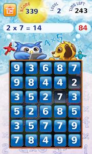 Multiplication Frenzy Free screenshot 0