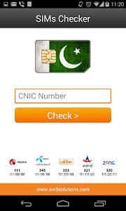SIMs Checker screenshot 1