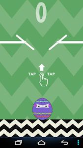 Zig Zag Egg Jumps screenshot 0