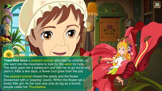 Thumbelina Kids StoryBook screenshot 1