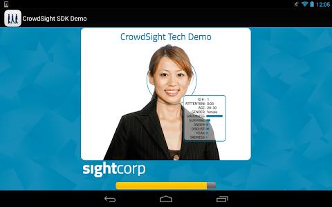 CrowdSight Face Analysis Demo screenshot 3