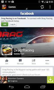 Drag Racing Games Fan screenshot 1