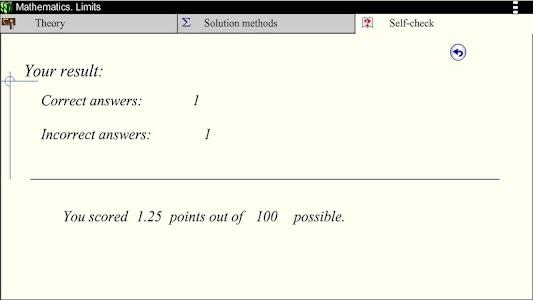 Math. Limits screenshot 6