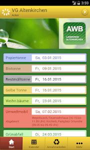 AWB Altenkirchen Abfall-App screenshot 0