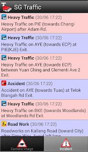 SINGAPORE LIVE TRAFFIC screenshot 1