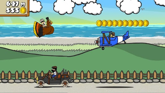 Dr. Gentleman's Jetpack Run screenshot 1
