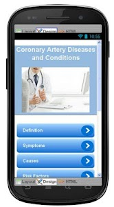 Coronary Artery Information screenshot 0