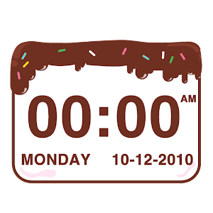 Chocolatecake Clock Widget