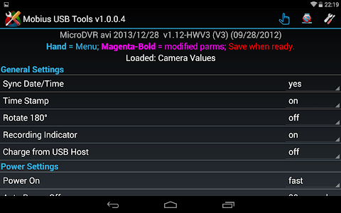 Mobius USB Tools screenshot 14