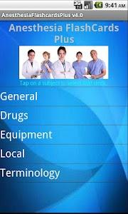 Anesthesia Flashcards Plus screenshot 0