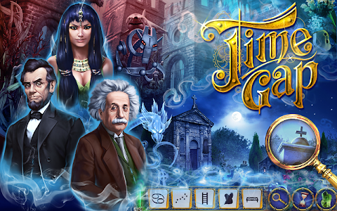 Time Gap Hidden Object Mystery screenshot 4