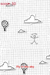Arrow Stickman: Fly Like Plane screenshot 0