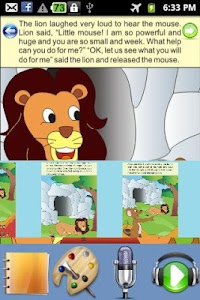 The Lion and The Mouse - Story screenshot 2