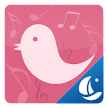 Pink Bird Boat Browser Theme APK