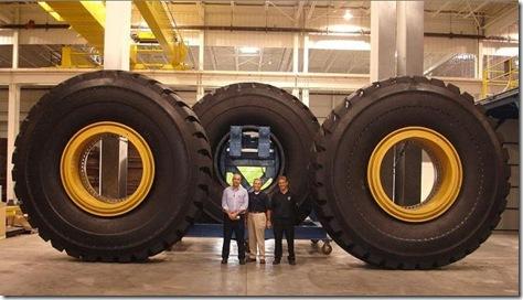 pneus gigantes