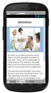 Dry Eyes Disease & Symptoms screenshot 1