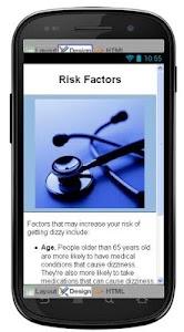 Dizziness Disease & Symptoms screenshot 4