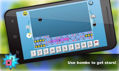 Math.Multiplication table Free screenshot 3