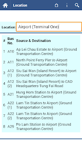 Hong Kong Bus Info screenshot 5