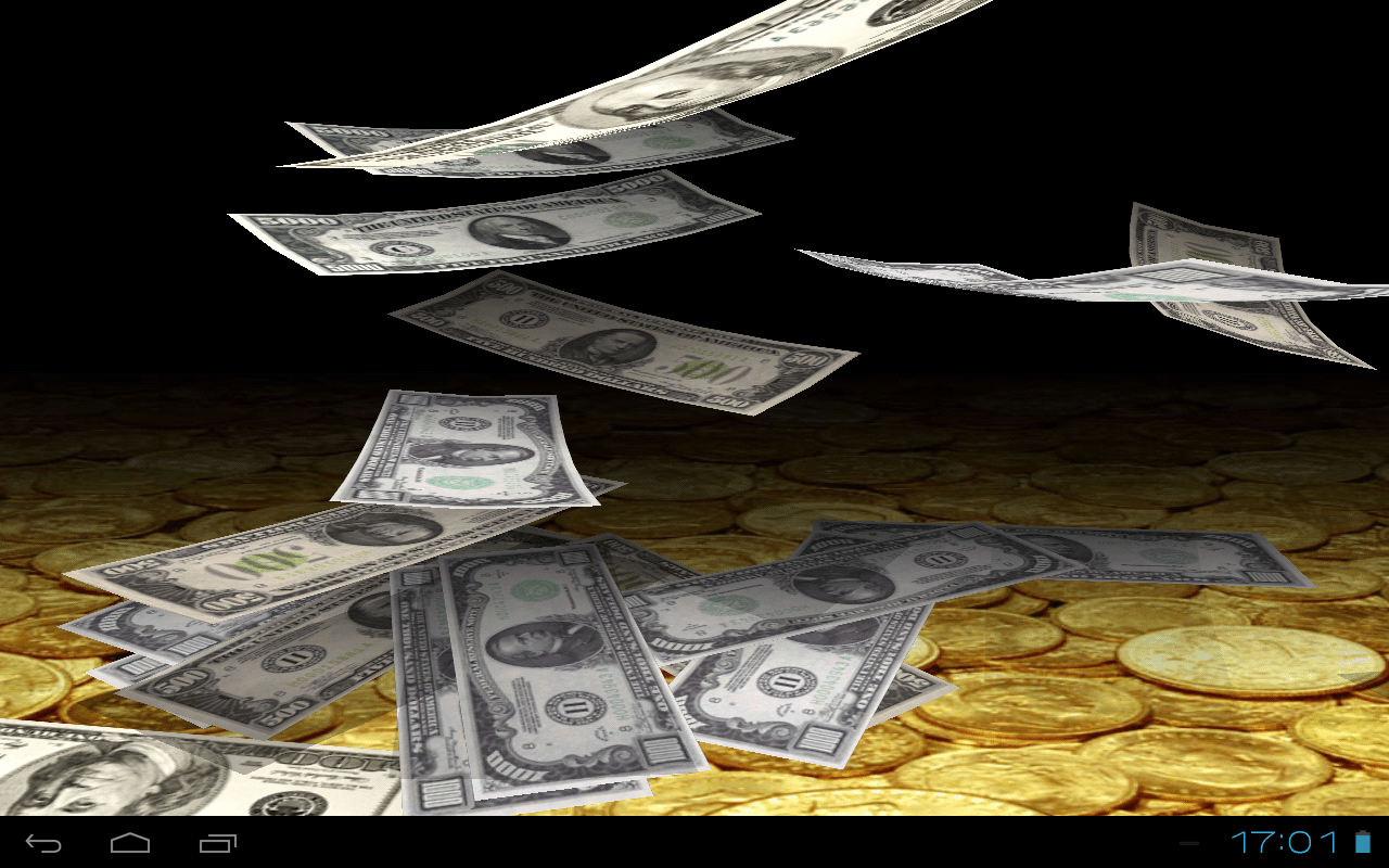 Falling Money 3d Live Wallpaper Falling Money 3d Wallpaper Android Apps On Google Play
