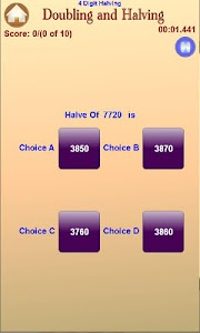 Doubling And Halving screenshot 5
