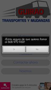 Mudanzas Guirao screenshot 1
