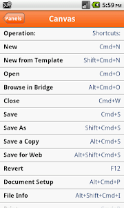 Shortcuts for illustrator screenshot 4