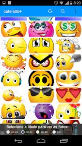 emoticons cute 600 screenshot 1