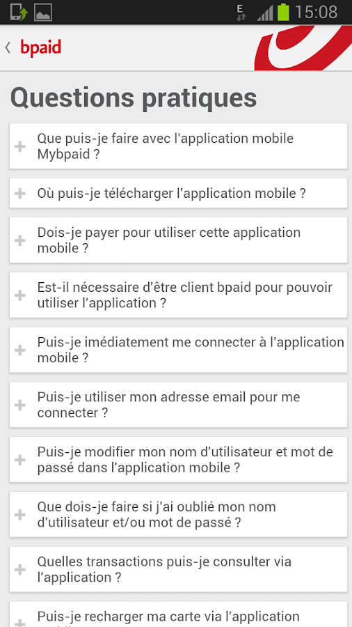 Bpaid Applications Android Sur Google Play