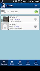 KDsafe screenshot 1