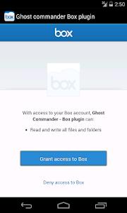 Ghost Commander plugin for BOX screenshot 1