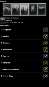 Series Droid - Series Tracker screenshot 0