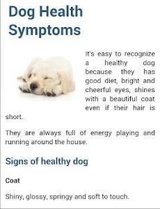 Dog Symptoms Cure screenshot 12