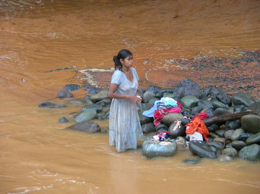 Rio Risco contaminado por toneladas de sedimentos