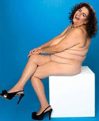 Naked Big Brother contestant, Carole