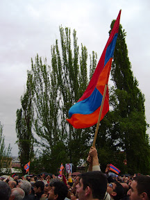 Joint Opposition Rally, Yerevan, Armenia, May 9, 2007 Photo by Artur Papyan