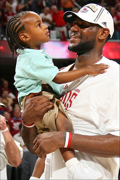Lebron James Baby Pic : lebron, james, LeBron, James, Becomes, Second, LEBRON, Shoes