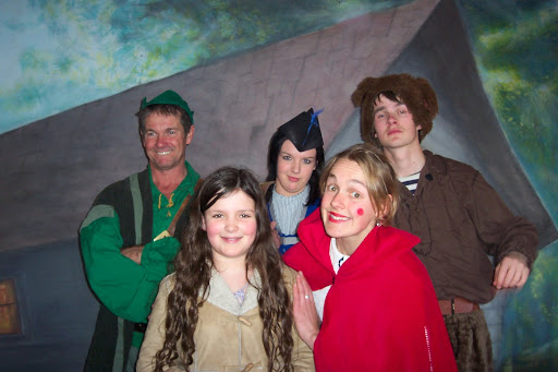 Biggie and the Pantomime cast