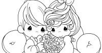 : Pareja de recin casados precious moments para ...