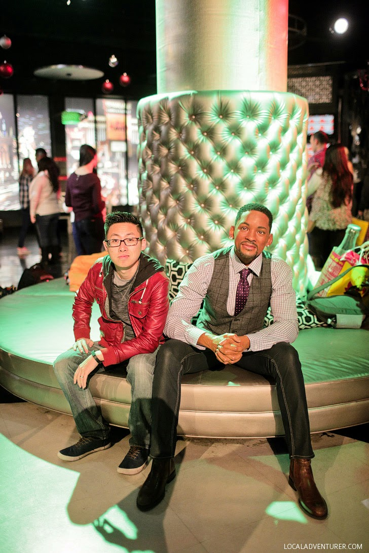 Will Smith Wax Figure at Las Vegas Madame Tussauds Wax Museum.