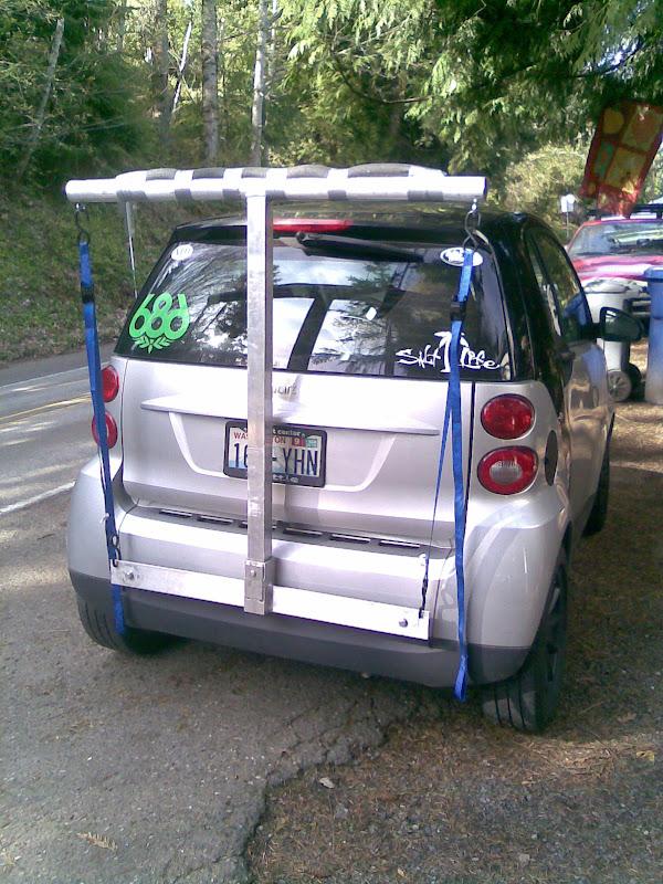 Roof Rack Yakima + Surfboard rack