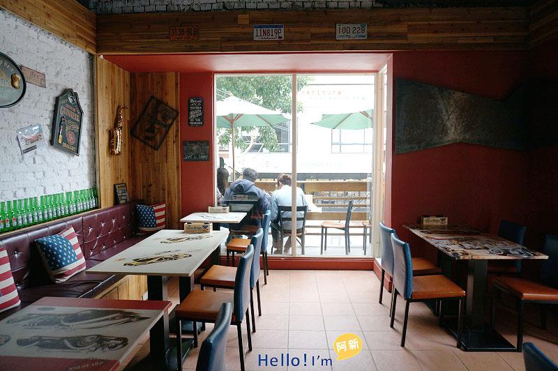 勤美誠品綠園道,美式餐廳,Hot Shock哈燒庫美式餐廳-4