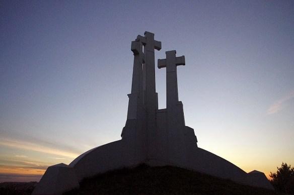Las tres cruces de Vilna, Vilnius