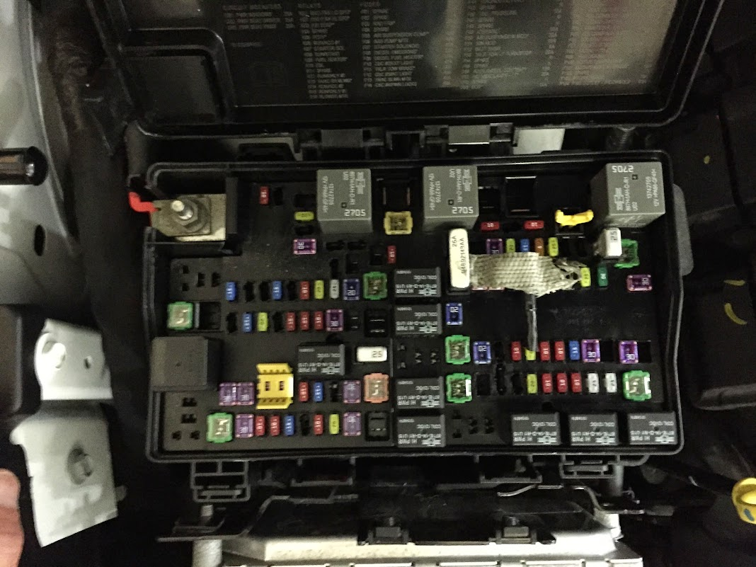 2013 Wrangler Fuse Box Could Someone Take A Picture Of The Fuse Panel Cherokee