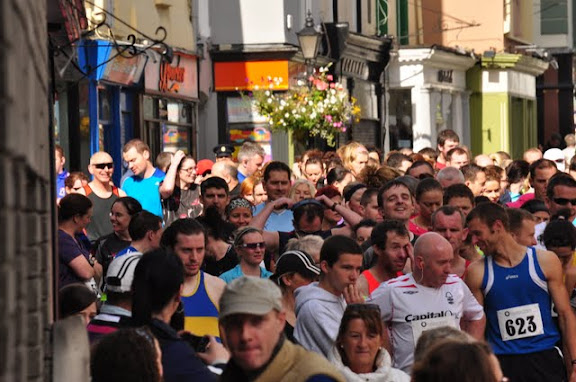 The Kilkenny 10KM Starting Line