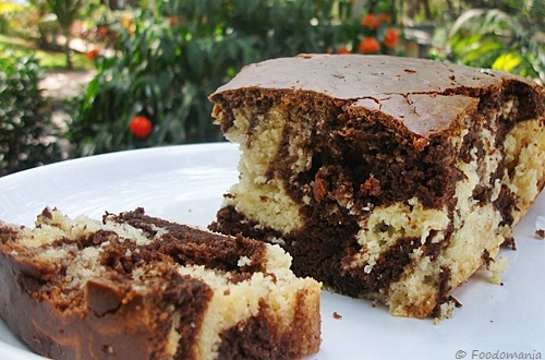 How Much Sugar Is In A Chocolate Marble Cake Slice