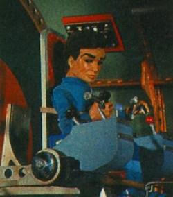 Scott Tracy aboard Thunderbird 1