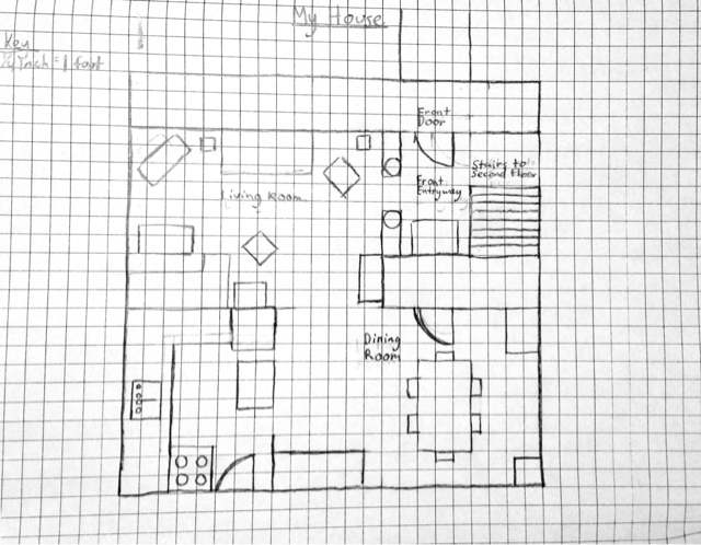 Mr. Thelen's Art Class: Drawing Floor Plans (Studio Skills