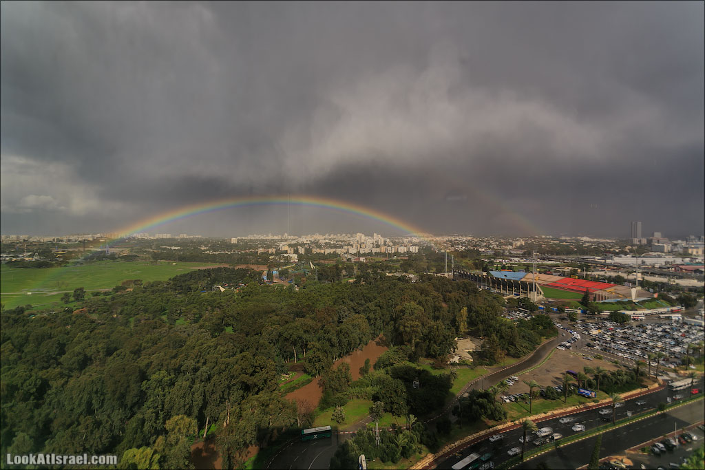 Радуга над Тель Авивом | Rainbow over Tel Aviv | קשת תל אביבית